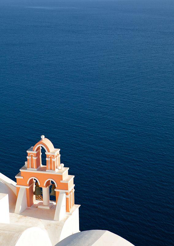sea view from Oia, Santorini