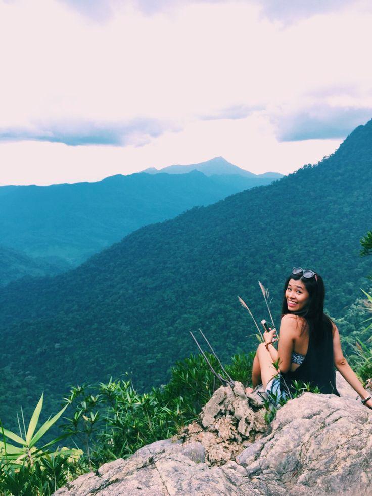 I'm on Bach Ma national park, Hue, Vietnam.