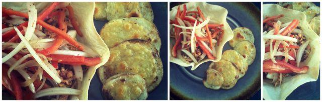 Délices & Confession: Bol de tortillas aux oeufs brouillés à la salsa