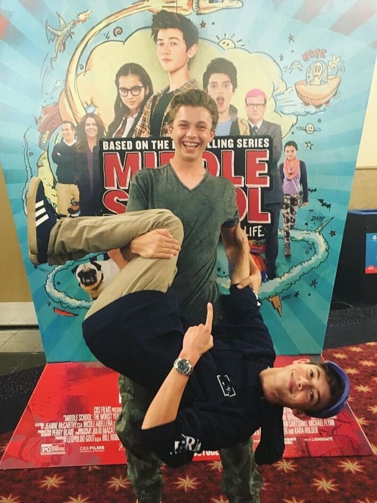 Griffin Gluck and Jacob Hopkins
