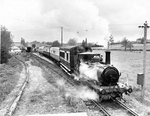 El encanto de los antiguos trenes.