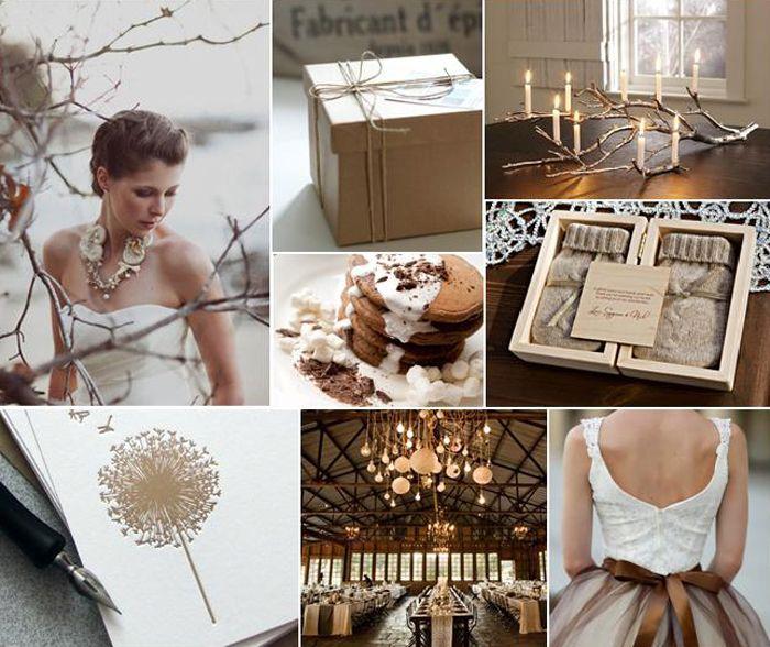 """Toasted Marshmallow"" suite: Toast Marshmallows, Wedding Ideas, Autumn Wedding, Inspiration Boards, Colors Palettes, Colors Schemes, Toasted Marshmallow, Winter Weddings, Branches"