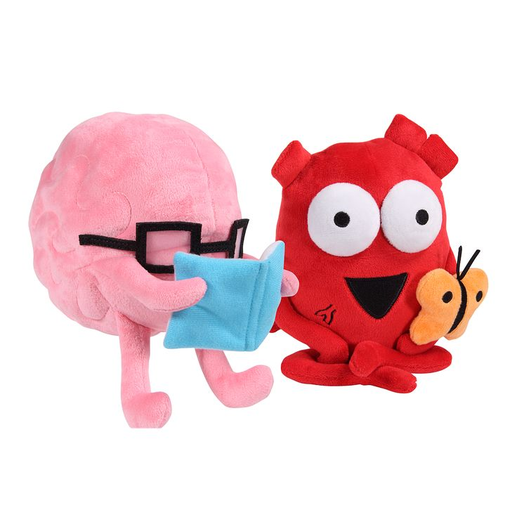 Heart and Brain Plushie Bundle