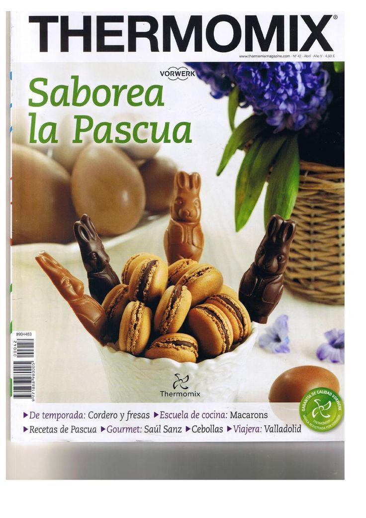 Revista thermomix nº42 saborea la pascua