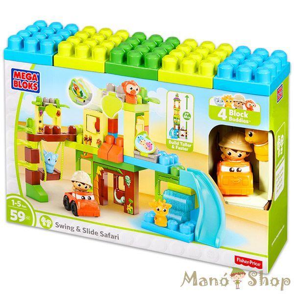 Mega Bloks szafaris játszótér (DPJ58)