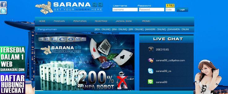 SARANA99 – Agen Poker Online, DominoQQ Terpercaya