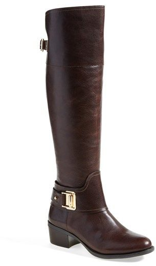 Yoyur online source for riding boots, leather riding boots, womens riding boots, horse riding boots, riding boot, ariat riding boots and Vince Camuto 'Basira' Leather Riding Boot (Women)