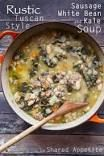 """clean eating"" tuscan bean kale stew"