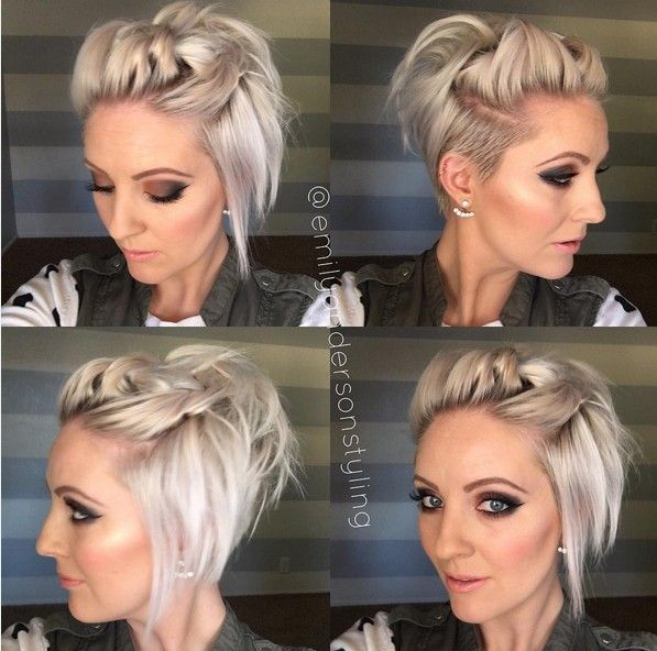 Super Quick Knotted Hairstyle With Short Hair Summer Hairstyles For S Looking Extensions To Refresh Your Look Instantly