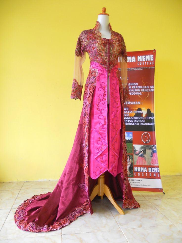 Marun Meranum Kebaya by Mama Meme Costume