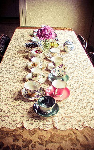 Teas Time, Teas Cups, Proper Teas, Vintage Teas, Tea Parties, Teas Sets, Bridal Shower, Teacups, Teas Parties