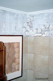 Csipkezsiráf: A fürdőszoba felvirágoztatása