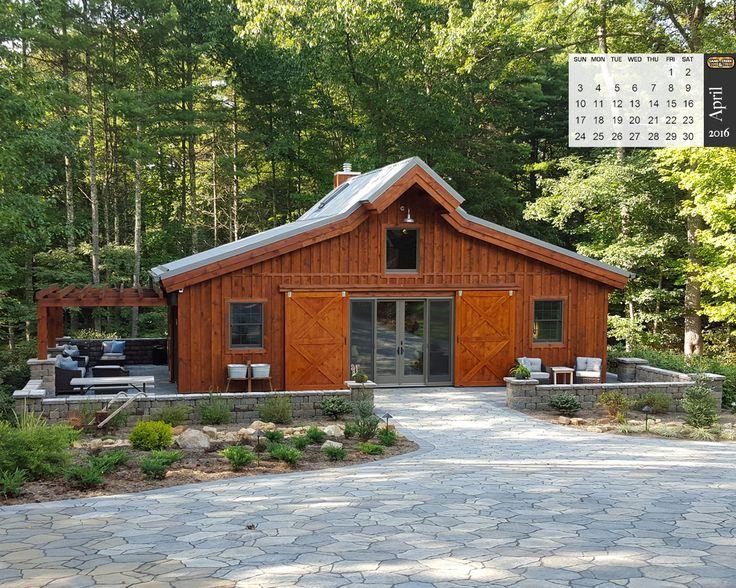 Pre-Designed Wood Barn Home, Ponderosa Country Barn 2,105 SQ. FT. by Sand Creek Post & Beam