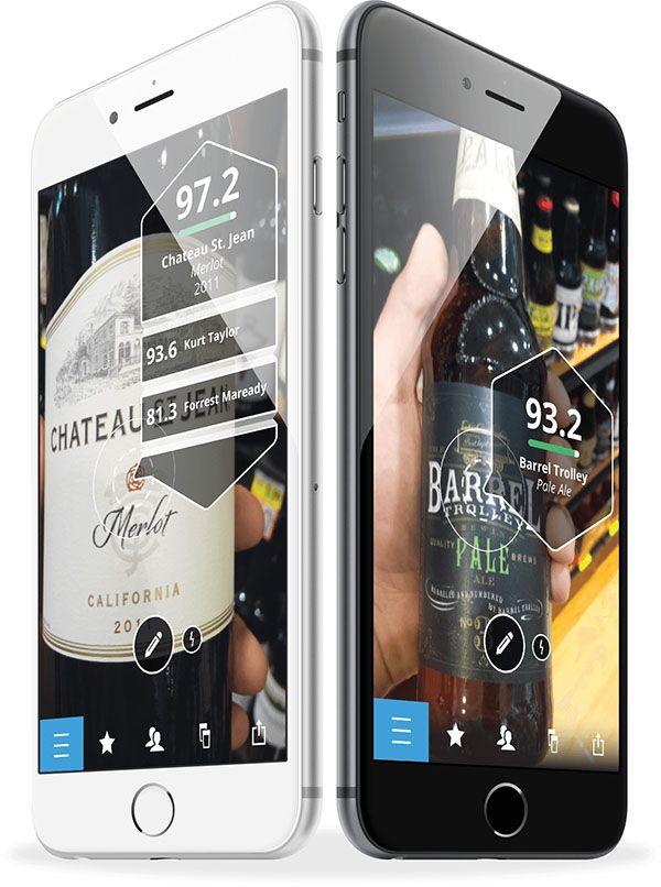 Next Glass : l'application qui reconnait le vin et la bière que vous aimerez, Mag.Lyonresto.com