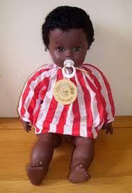 Creato nel 1962 da Gervasio Chiari (fondatore della fabbrica di bambole Sebino) Nei primi anni 70 le vendite di Cicciobello superarono il milione di pezzi. La versione Angelo Nero venne prodotta a partire dal 1967