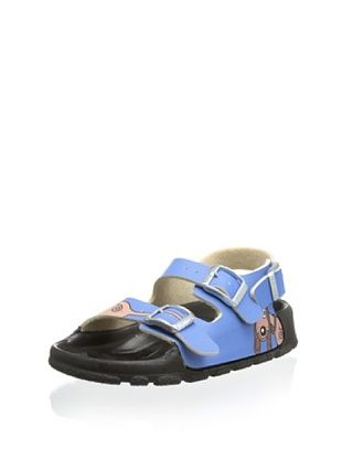 56% OFF Birki's Kid's Aruba Sandal (Blue)