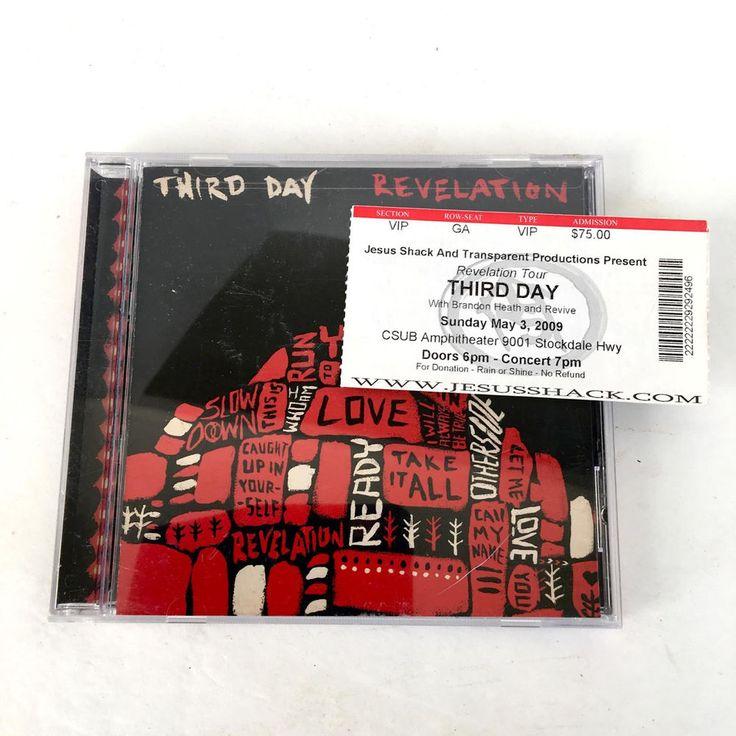 Third Revelation Music CD With 2009 Concert Ticket Stub #Christian