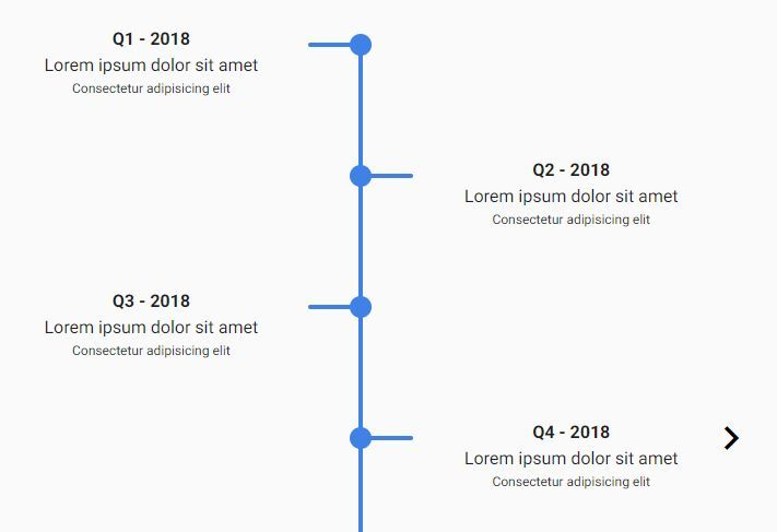 Dynamic Animated Timeline Slider With jQuery - Roadmap