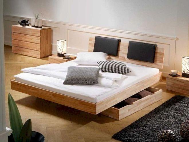 30 Creative Wooden Pallets Bed Projects Ideas Modavigo Ikea Platform Bed Platform Bed Designs Bed Frame With Storage