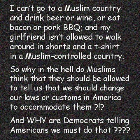 Freedom of speech and religion is a poor argument Liberals!
