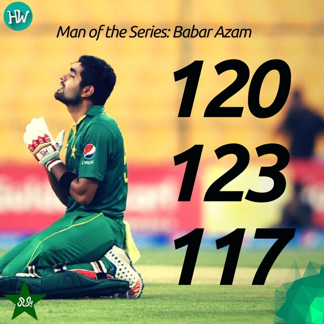 What a series this young lad has had. 3 matches, 3 tons! #PAKvWI #PAK #WI #cricket