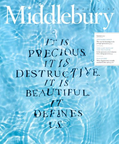 Cover of the redesigned Middlebury Magazine's Summer 2012 issue.2013 Circles, Summer 2012, Magazines Summer, 2012 Covers, 2012 Summer, Middlebury Colleges,  Dust Covers, Magazines Covers, Middlebury Magazines