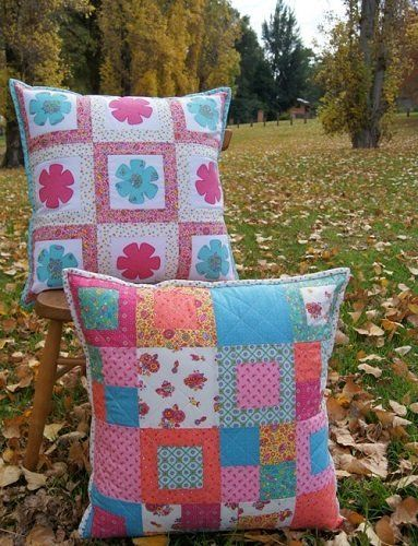 """""""Blooms Cushion Set"""" designed by Jemima Flendt for Tied With A Ribbon."""