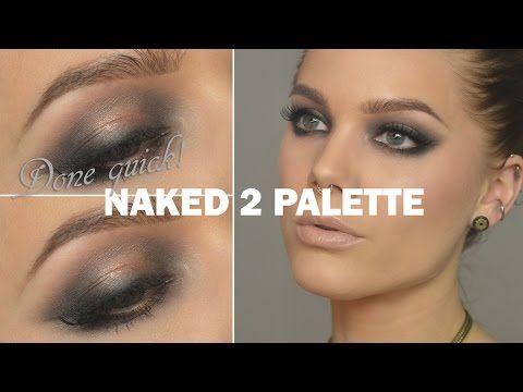 Done Quick - Naked 2 Palette - Linda Hallberg makeup tutorials - YouTube