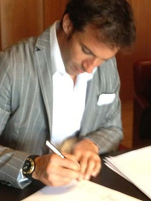 Signed and sealed ... Alessandro Del Piero is coming to Sydney FC.