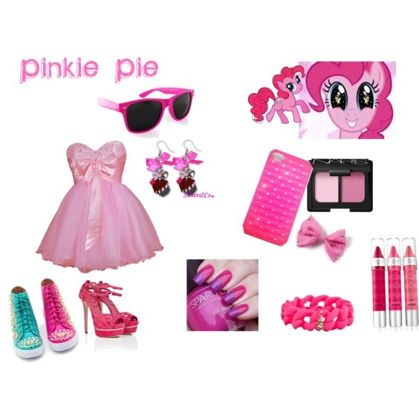 Pinkie Pie :D By carbqueen on polyvore (me!)