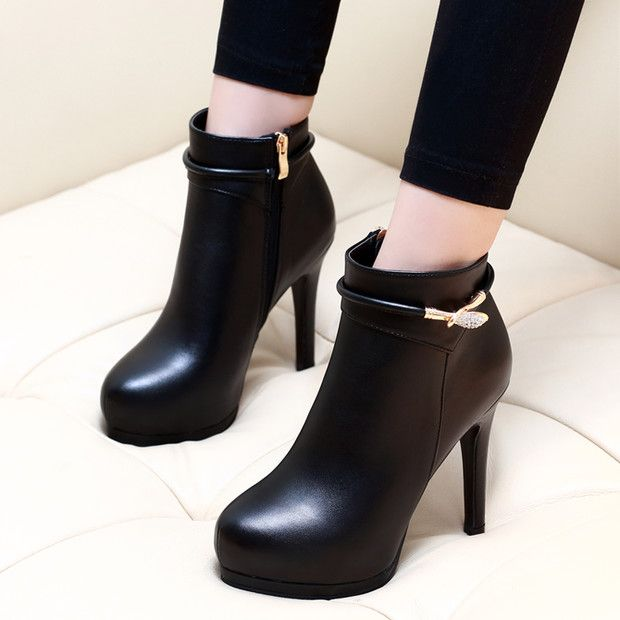 Buy Now (Simple Design Platform Stiletto High Heel Boots) from Sheetag - http://www.sheetag.com/product/simple-design-platform-stiletto-high-heel-boots/