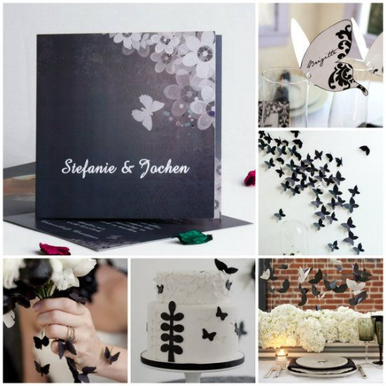 25 best schmetterlinge hochzeit images on pinterest butterflies butterfly wedding and amor. Black Bedroom Furniture Sets. Home Design Ideas
