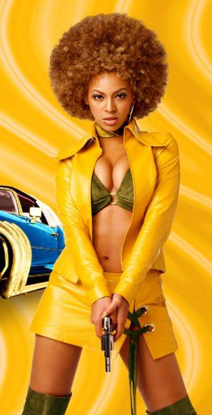 Beyonce Knowles' totally groovy 1970s blaxploitation-inspired character Foxxy Cleopatra in Austin Powers: Goldmember