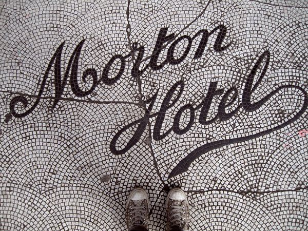 Morton Hotel tile work
