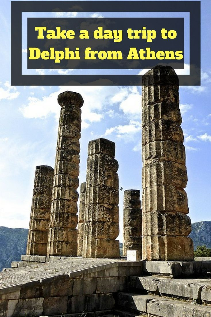 Delphi Day Trip From Athens - Visit the UNESCO World Heritage Site of Delphi on a day trip from Athens. #Delphi #Greece #Athens