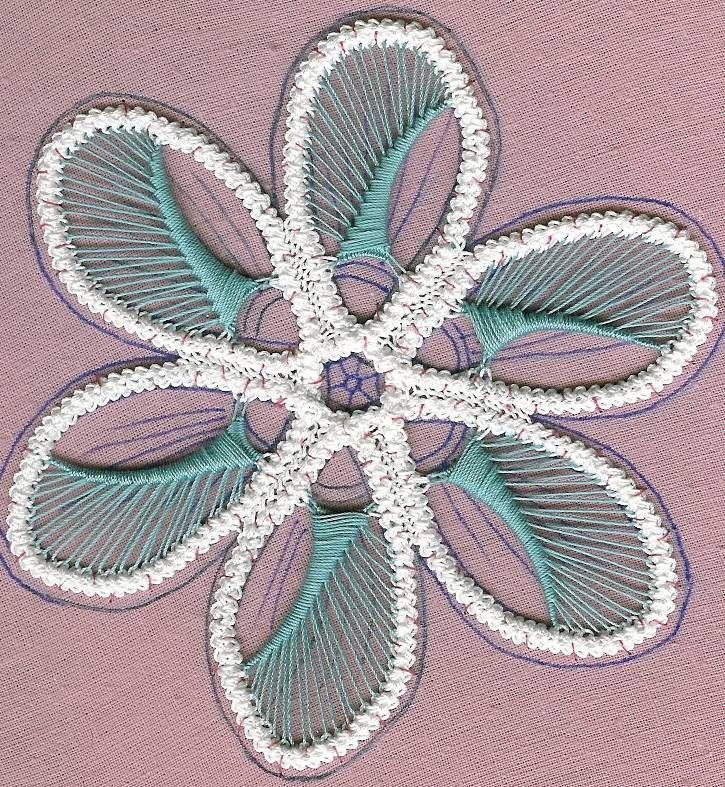 Romanian Point Lace Tutorial