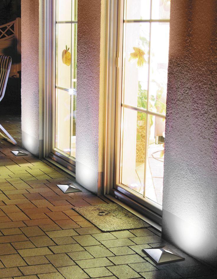 Luminaire encastrable au sol / à LED / carré / d'extérieur MARELL 22 PYRAMID Inverlight Srl