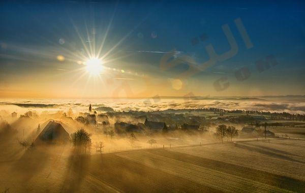 تفسير رؤية شروق الشمس في المنام ماذا يعني رؤية شروق الشمس من الغرب شروق الشمس في الليل حلم طلوع الشمس بعد ال Landscape Photography Cool Landscapes Landscape