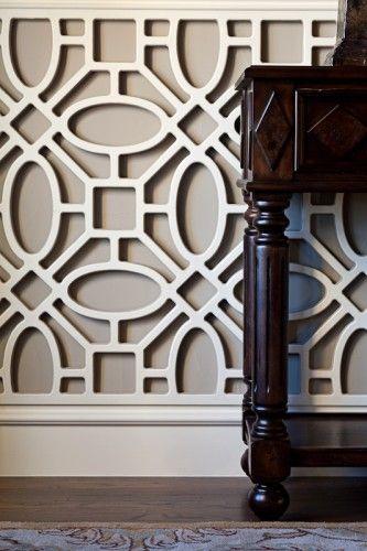 idea: laser cut pattern for wall 3D Kimberly Davis Photography