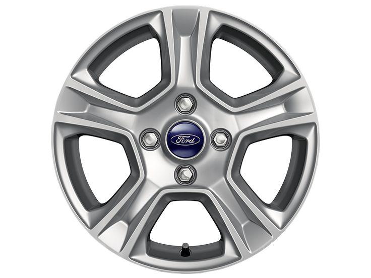 """Ford Tourneo Courier - Cerchi in lega 15"""" a 5 razze, argento."""