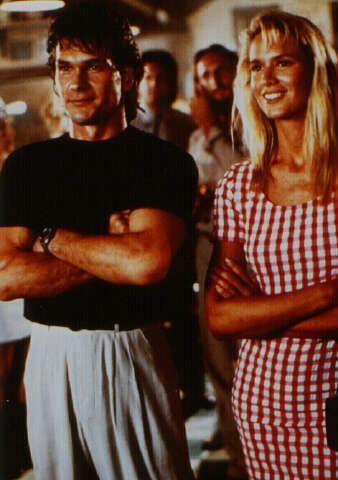 Patrick Swayze and Kelly Lynch