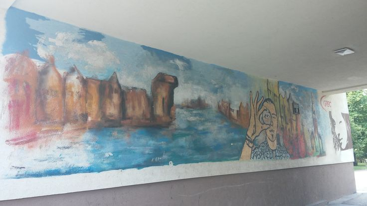 Graffiti, Gdansk, Poland