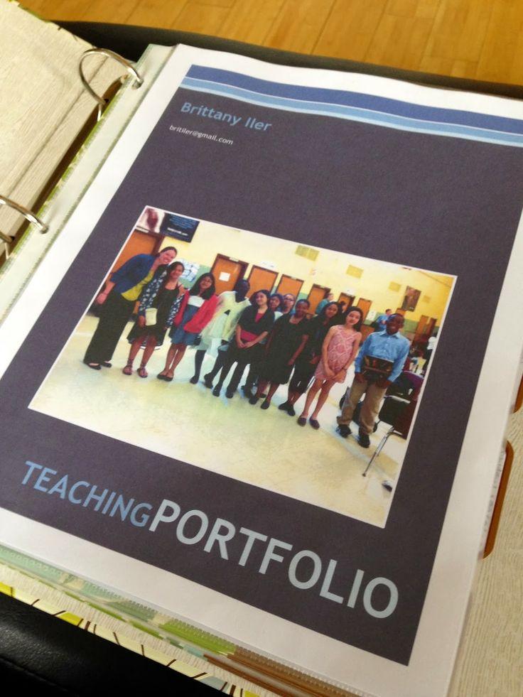 121 best images about teacher portfolio stuff on pinterest