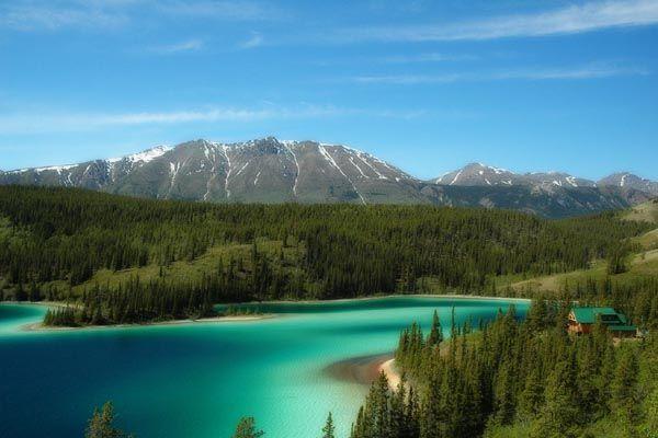 Emerald Lake, Yukon Territory...beautiful