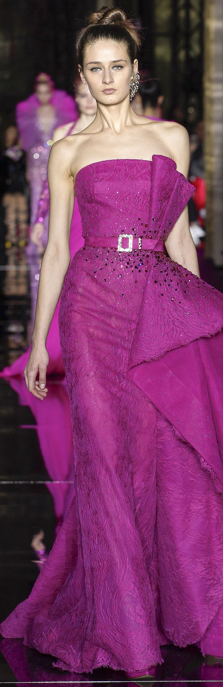 105 best Cherry/Fuchsia images on Pinterest | Party dresses, Prom ...