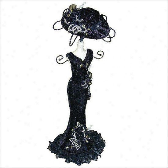 Victorian Mannequin Jewelry Holder Necklaces | Mannequin Jewelry Stand