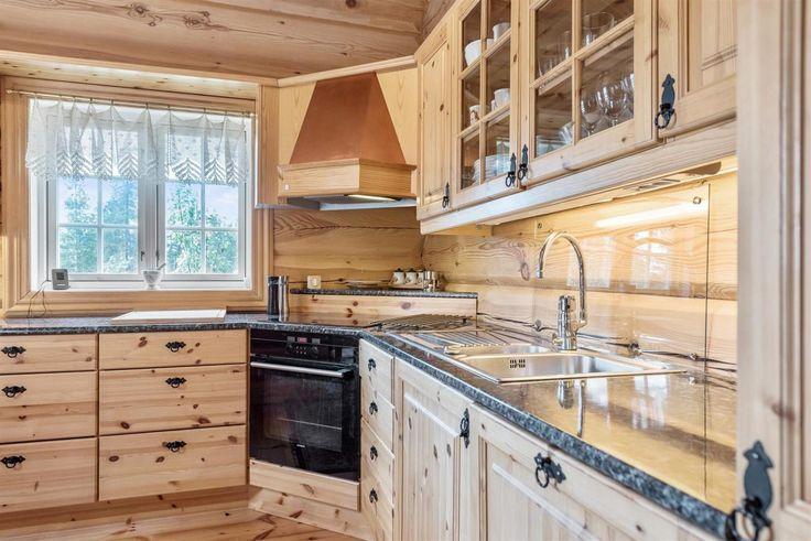 FINN – DREVSJØ - Flott laftet bolig med fin beliggenhet. Nærhet til flott natur og fiskemuligheter. 3 soverom