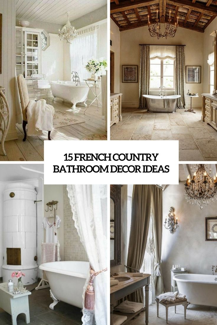 Country bathroom decor ideas - 17 Best French Country Bathroom Ideas On Pinterest Country Bathroom Design Ideas French Country Bathrooms And French Bathroom