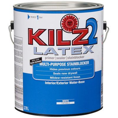 KILZ 2® White Latex Primer