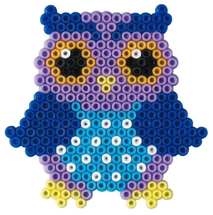 hama bead owls | Blisterpakning - ugler - lille 5507